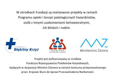 Dofinansowanie Śląska Fundacja Błękitny Krzyż