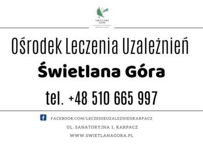 Terapia Uzależnień w Karpaczu, Ośrodek Świetlana Góra