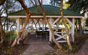altana nefo ogród