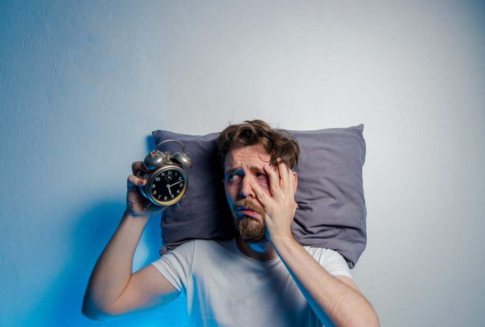 Bezsenność jak sobie z nią radzić, dlaczego nie możemy spać?